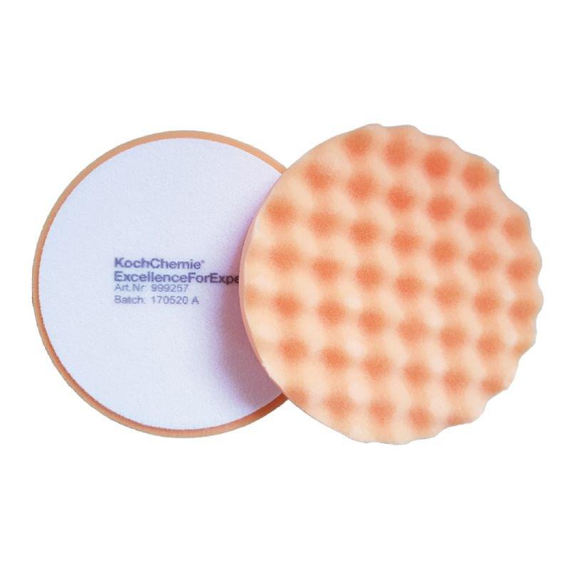 Antihologramm-Schwamm orange, gewaffelt Ø 160 mm